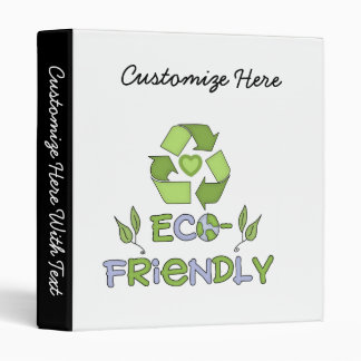 Eco-Friendly Tshirts and Gifts Binder