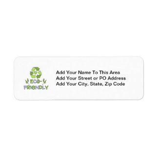 Eco-Friendly Tshirts and Gifts Label