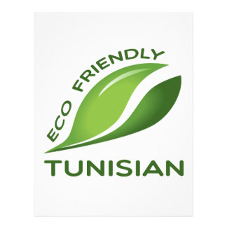 Eco Friendly Tunisian. Letterhead