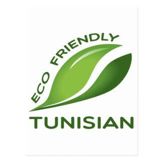 Eco Friendly Tunisian. Postcard