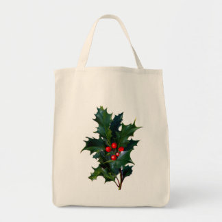 Eco-Friendly Vintage Holly Reusable Canvas Bags