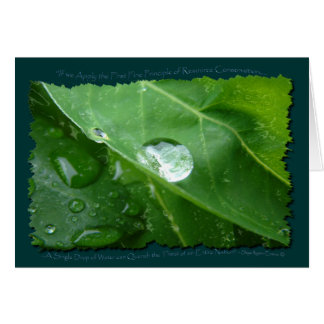 ECO FRIENDLY WATER CONSERVATION Gifts & Gear Card