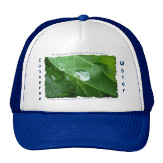 ECO FRIENDLY WATER CONSERVATION Gifts & Gear Trucker Hat