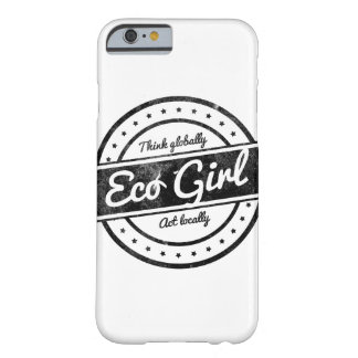 Eco Girl Barely There iPhone 6 Case