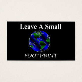 Eco Globe Business Card