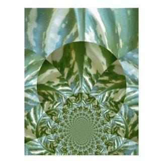 Eco - Going Green Environmental Friendly Colors Custom Letterhead