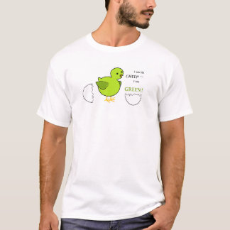 Eco Green Chick Tshirt w/logo