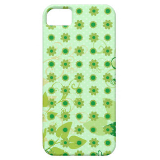 Eco Green Leaves Background iPhone SE/5/5s Case