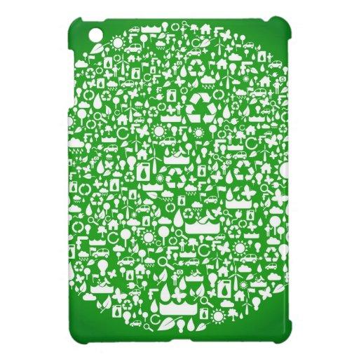 Eco Green Save the World iPad Mini Cases