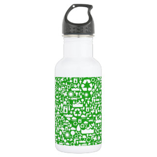 Eco Green Save the World Water Bottle