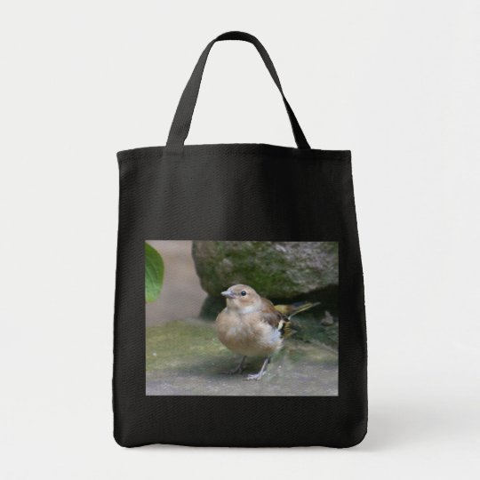 Eco Grocery Tote: Sparrow Tote Bag