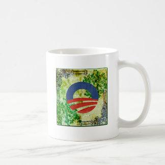 Eco Grunge Obama 2012 Reelection Design Coffee Mug