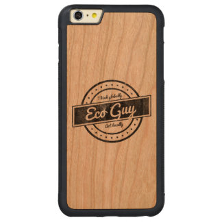 Eco Guy Carved® Cherry iPhone 6 Plus Bumper