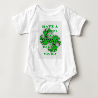 Eco Have a Nice Day and a Better Night Baby Bodysuit