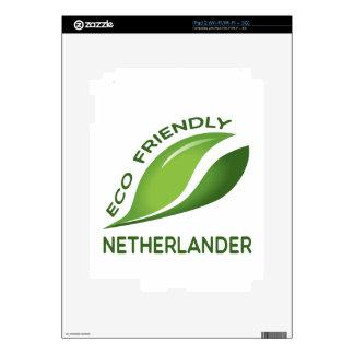 Eco holandés amistoso iPad 2 skins