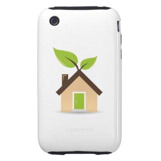 Eco House Tough iPhone 3 Case