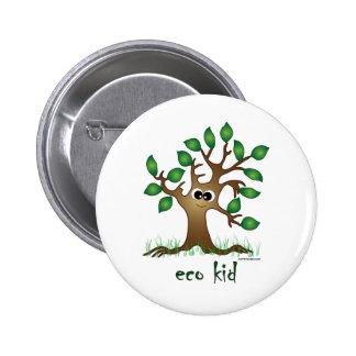 Eco Kid 2 Inch Round Button