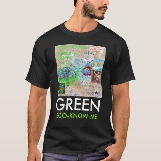 ECO-KNOW-ME, GREEN, evoluc - Custo... - Customized T-Shirt