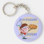 Eco-KOSHER, DUDE! Orthodox Key Ring Keychain
