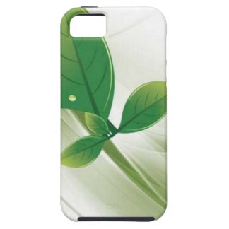 eco-leaves-vector iPhone SE/5/5s case