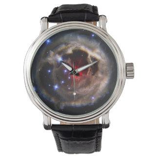 Eco ligero de la estrella reloj