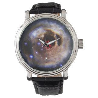 Eco ligero de la estrella V838 Monocerotis - Reloj De Mano