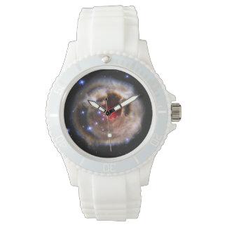 Eco ligero de la estrella V838 Monocerotis Reloj De Mano