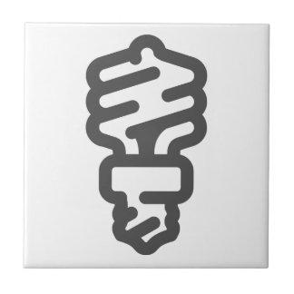 Eco Light Bulb Tile