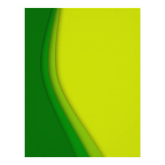 Eco lines personalized letterhead