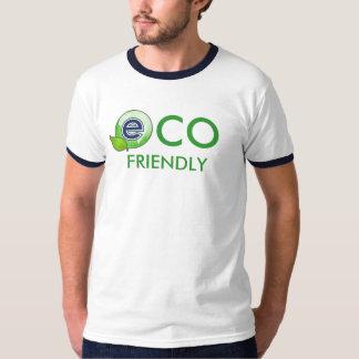 Eco LogoEarthLeaf amistoso Poleras