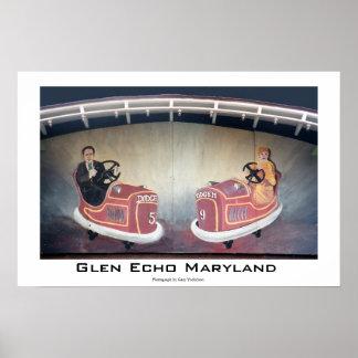 Eco Maryland de la cañada Posters