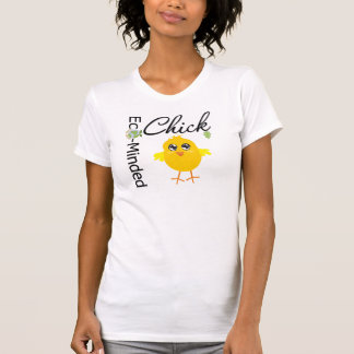 Eco-Minded Chick T Shirts