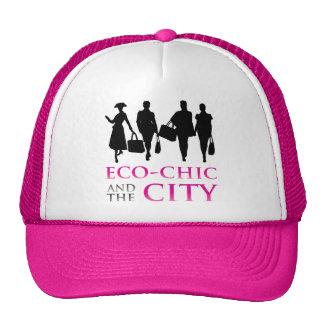 Eco - moda y la ciudad gorro