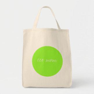 eco mom grocery tote bag