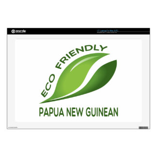Eco Papua amistosa nuevo guineano 43,2cm Portátil Calcomanía