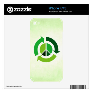 Eco Peace Skin For The iPhone 4S