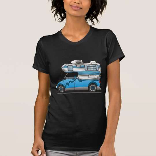 Eco Pick Up Camper Blue T-Shirt