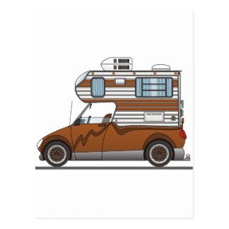 Eco Pick Up Camper Brown Postcard