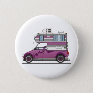 Eco Pick Up Camper Purple Button