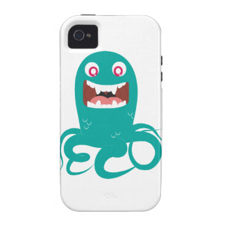 ECO Sea Monster iPhone 4 Cover