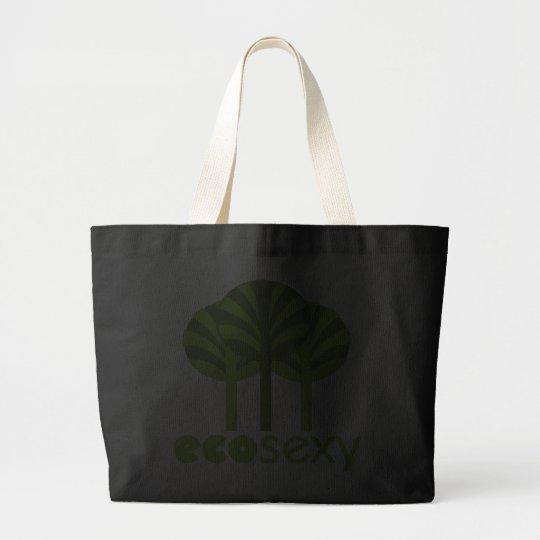 Eco Sexy Tree Hugger Large Tote Bag