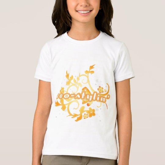 Eco-stylin' Girls Ringer T-shirt
