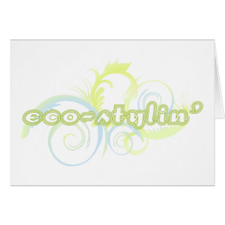 Eco-stylin' Note cards