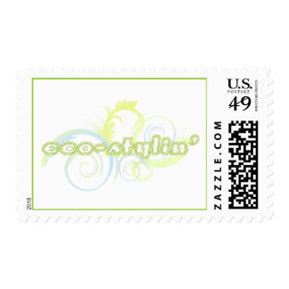 Eco-stylin' Postage Stamps