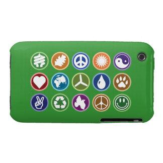 Eco Symbols iPhone 3 Covers