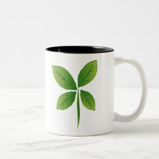 ECO TAZA DE CAFÉ DE DOS COLORES