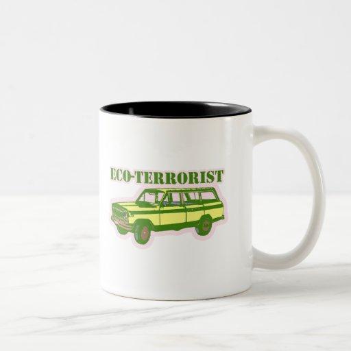 Eco-terrorista Tazas De Café