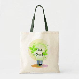 Eco Think Green Budget Tote Bag