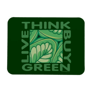 Eco Think Green Magnet