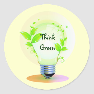 Eco Think Green Stickers